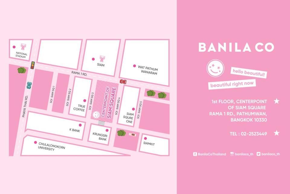Banila Co map